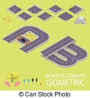 Letter b road clipart jpg black and white stock Vector Clip Art of B letter. Road font. Vector illustration in ... jpg black and white stock
