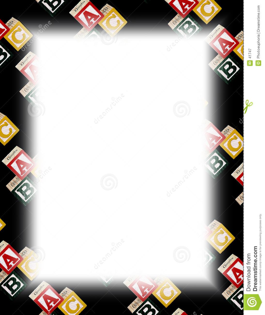 Letter clipart abc border clip art transparent library Full Size Abc Border Clipart - Clipart Kid clip art transparent library