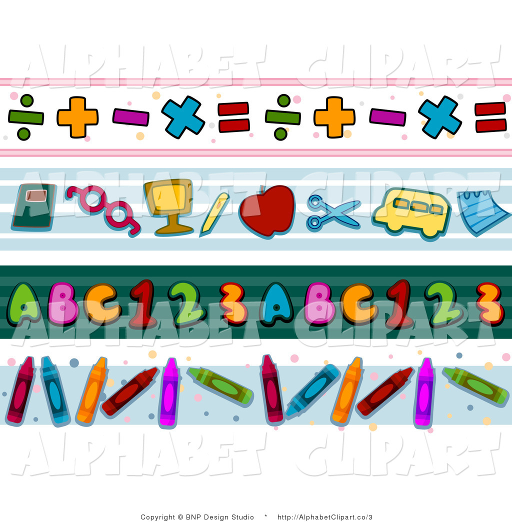 Letter clipart abc border banner freeuse library Abc Border Edge Clipart - Clipart Kid banner freeuse library