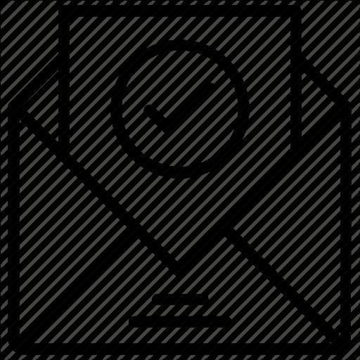 Letter clipart icon picture transparent \'Content Design Production 1\' by ProSymbols picture transparent