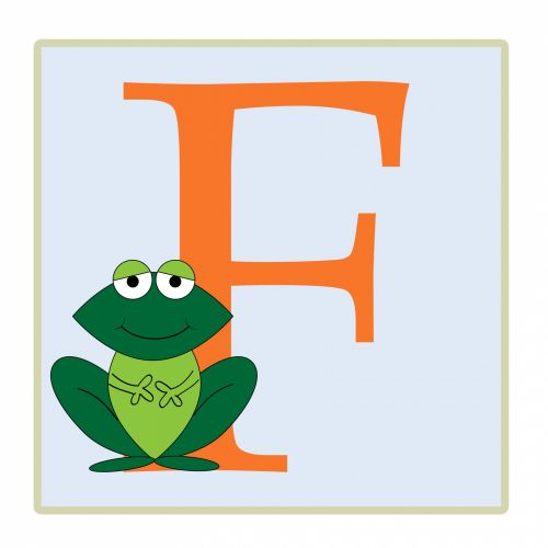 Letter f frog clipart picture black and white Free photos illustration - swimming frog search, download - needpix.com picture black and white
