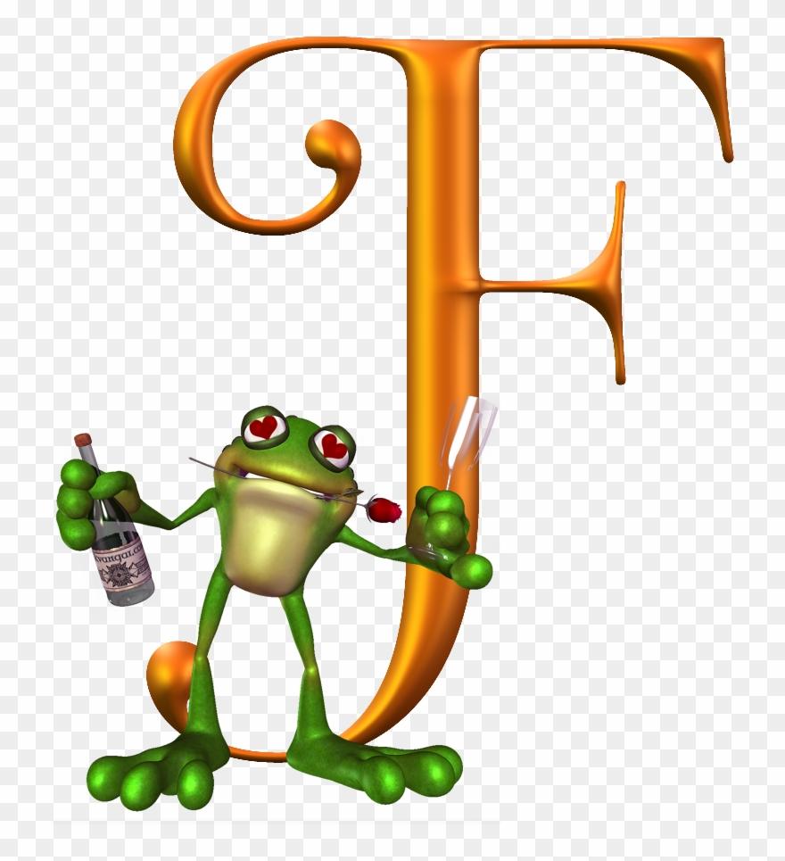 Letter f frog clipart banner freeuse F For Frog Alphabet Soup, Alphabet Letters, Letter - Letter Clipart ... banner freeuse