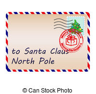 Letter from santa clipart png library library Letter santa Vector Clip Art Illustrations. 4,592 Letter santa ... png library library