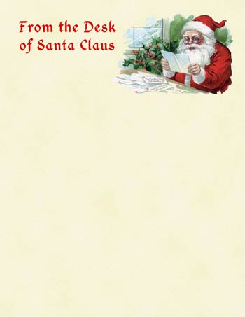 Letter from santa clipart image transparent library Letter from santa clipart - ClipartFest image transparent library