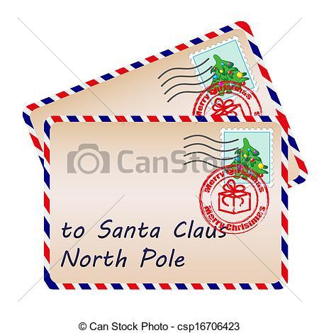 Letter from santa clipart jpg transparent stock Letter from santa clipart - ClipartFest jpg transparent stock