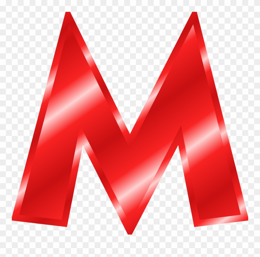 Letter m clipart vector free stock Alphabet Clipart Letters 6 - Red Letter M Clipart - Png Download ... vector free stock