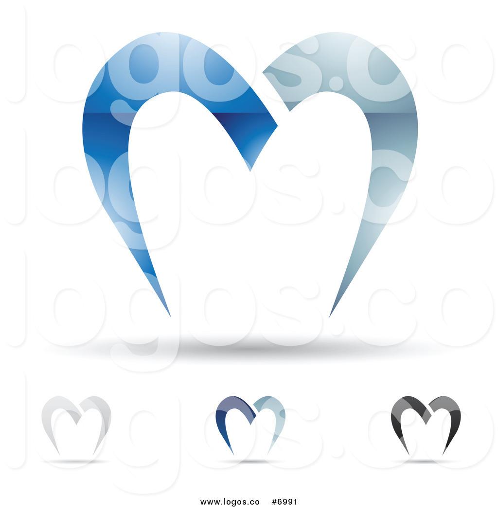 Letter m design clipart vector freeuse download Royalty Free Clip Art Vector Abstract Letter M Design Logos by ... vector freeuse download