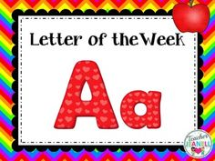 Letter of the week clipart image library stock 87 Best Letter Aa Activities images in 2016 | Preschool, Alphabet ... image library stock