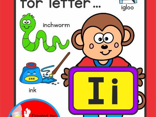 Letter of the week clipart vector freeuse download Letter Ii ... Letter of the Week Activity Worksheets vector freeuse download