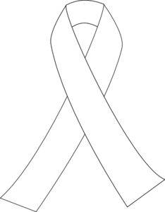 Letter p cancer ribbon black and white clipart jpg Ribbon For Cancer clip art - vector clip art online, royalty free ... jpg