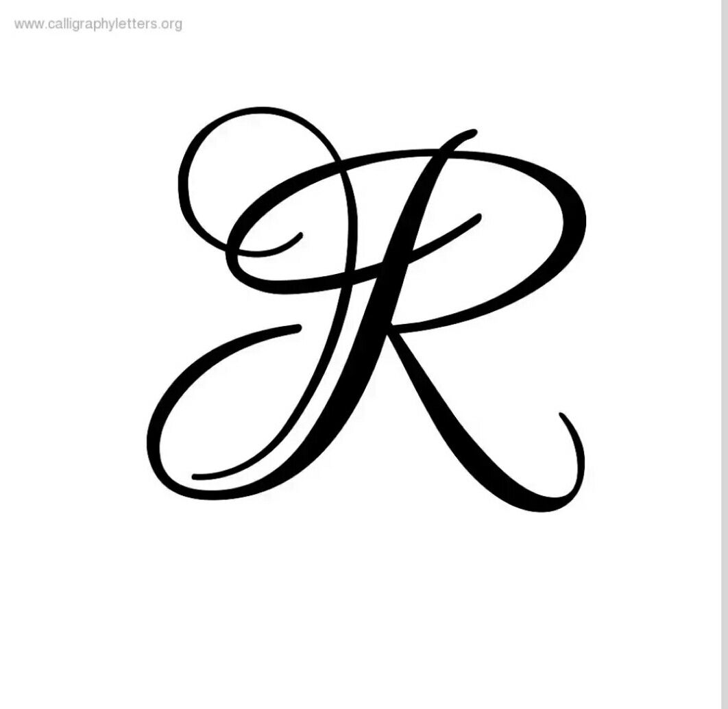 Letter r clipart calligraphy image royalty free download Letter R In Different Fonts All Various Cool Font Script ... image royalty free download