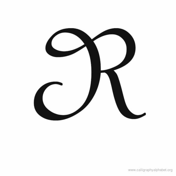 Letter r clipart calligraphy vector transparent Calligraphy Alphabet R | Alphabet R Calligraphy Sample ... vector transparent
