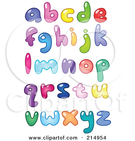 Letter s clipart colored picture transparent download Cartoon of Colorful Colored Sketched Lowercase Letters - Royalty ... picture transparent download