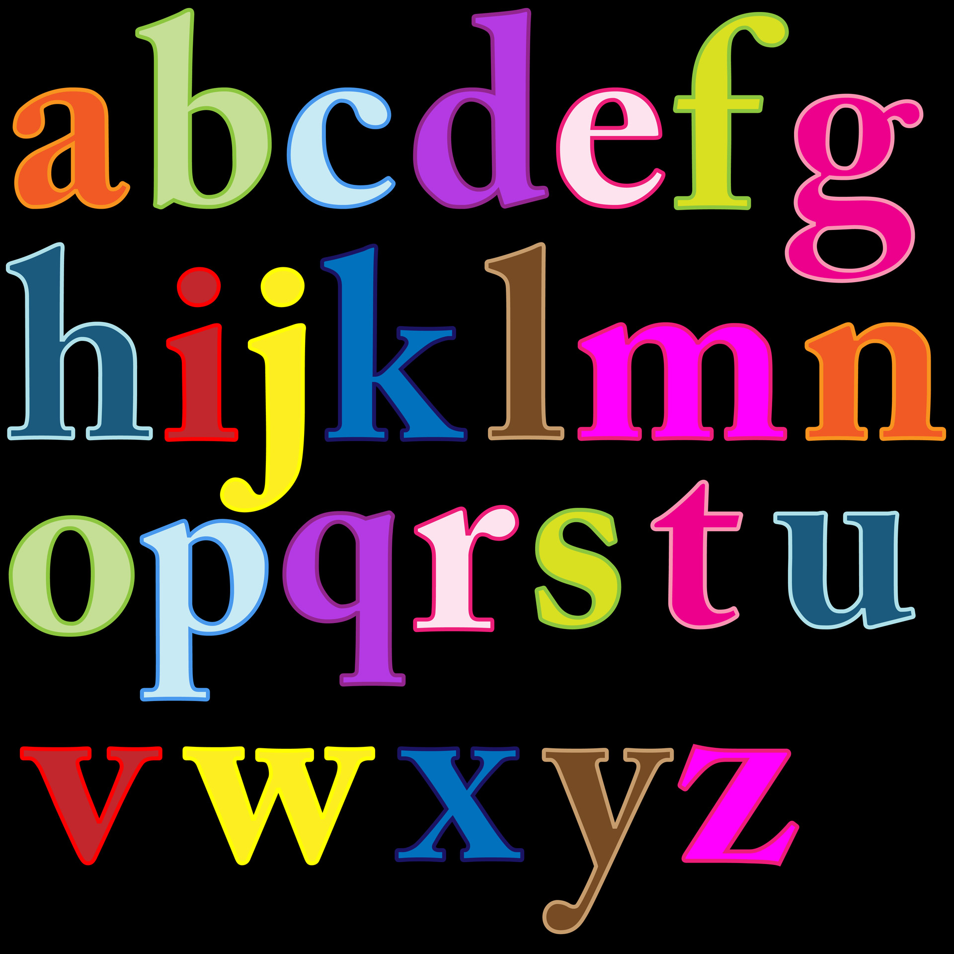 Letter s clipart colored banner royalty free stock Alphabet Letters Clip-art Free Stock Photo - Public Domain Pictures banner royalty free stock