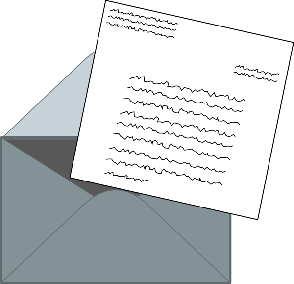 Letter mail at clker. Clip art for letters