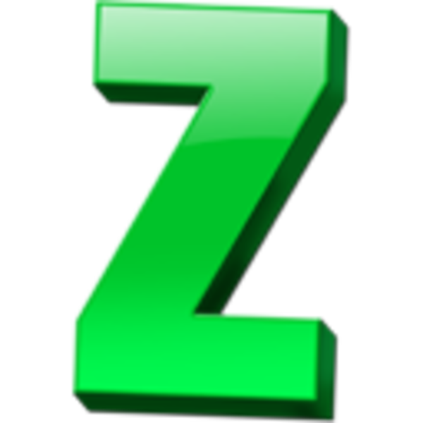 Letter z clipart graphic library stock Letter Z Icon | Free Images at Clker.com - vector clip art ... graphic library stock