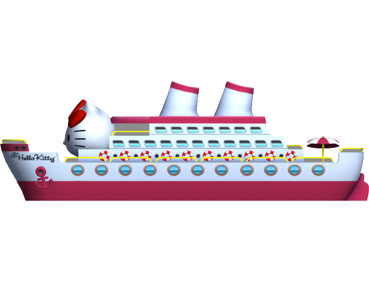 Letterland annie apple clipart vector stock Hello Kitty cruise liner! Background object from Hello Kitty ... vector stock