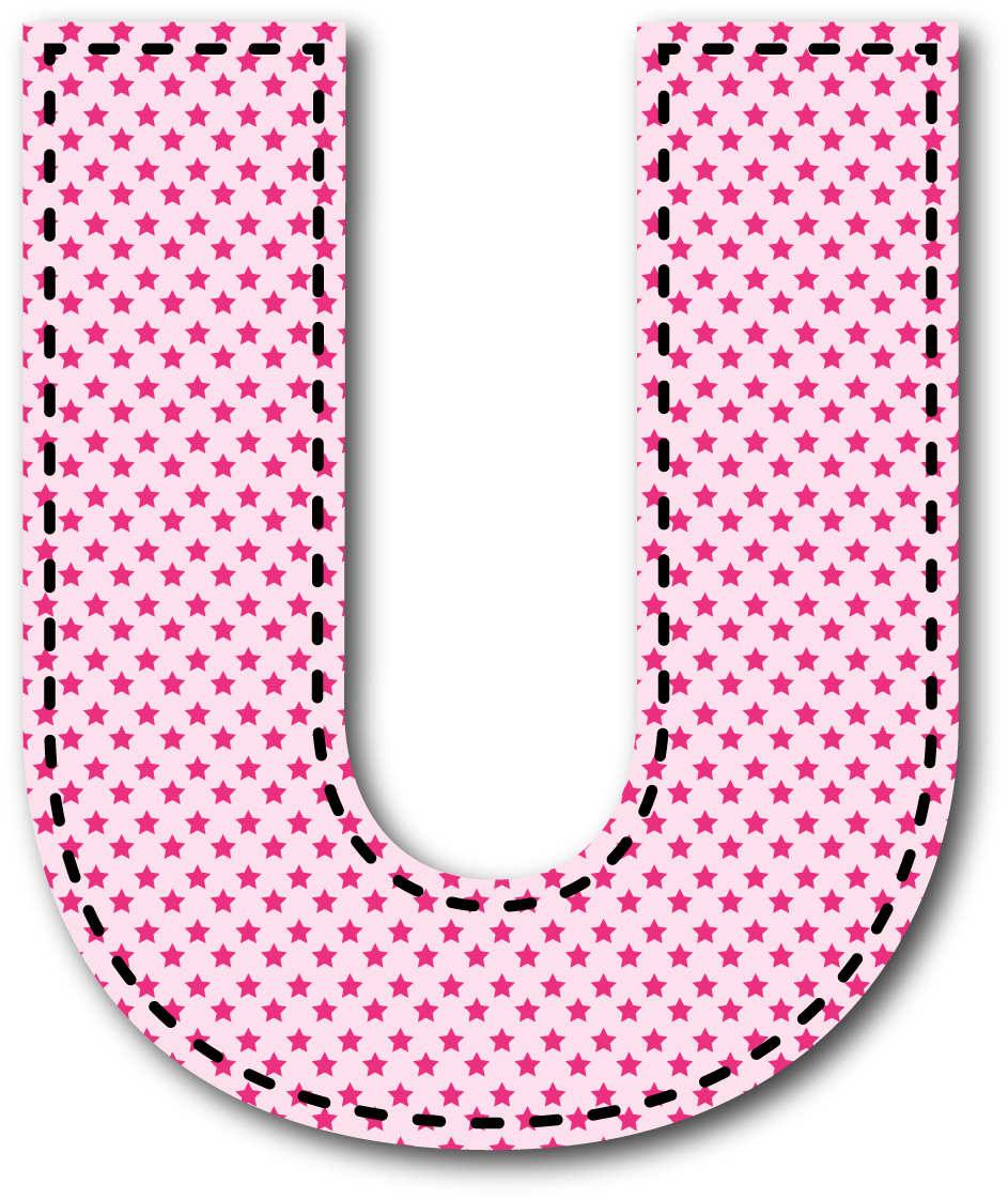 Letters clip art printable clipart black and white stock U MAYÚSCULA   Alphabet / Letras   Pinterest   Alphabet letters ... clipart black and white stock