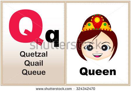 Letters clip art printable clip art free download Alphabet Letter Q Clipart Few Similar Stock Vector 232409497 ... clip art free download