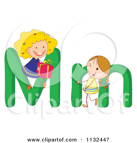 Letters for kids clipart transparent library Royalty-Free (RF) Letter Kid Clipart, Illustrations, Vector ... transparent library