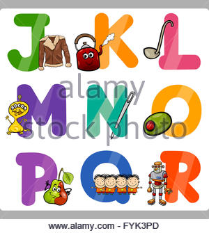 Letters for kids clipart graphic royalty free stock Education Cartoon Alphabet Letters For Kids Stock Photo, Royalty ... graphic royalty free stock
