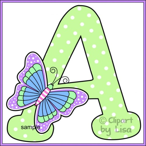 Letters in clipart image freeuse Letter Clipart – Alphabets – 101 Clip Art – letters arts image freeuse