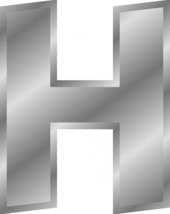 Letters of the alphabet clipart clip download Effect Letters Alphabet Silver C clip art | free vectors | UI Download clip download