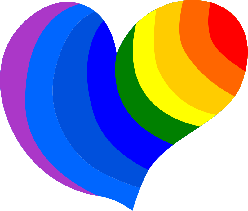 Lgbt heart clipart graphic download Heart Peace Sign Clipart at GetDrawings.com | Free for personal use ... graphic download
