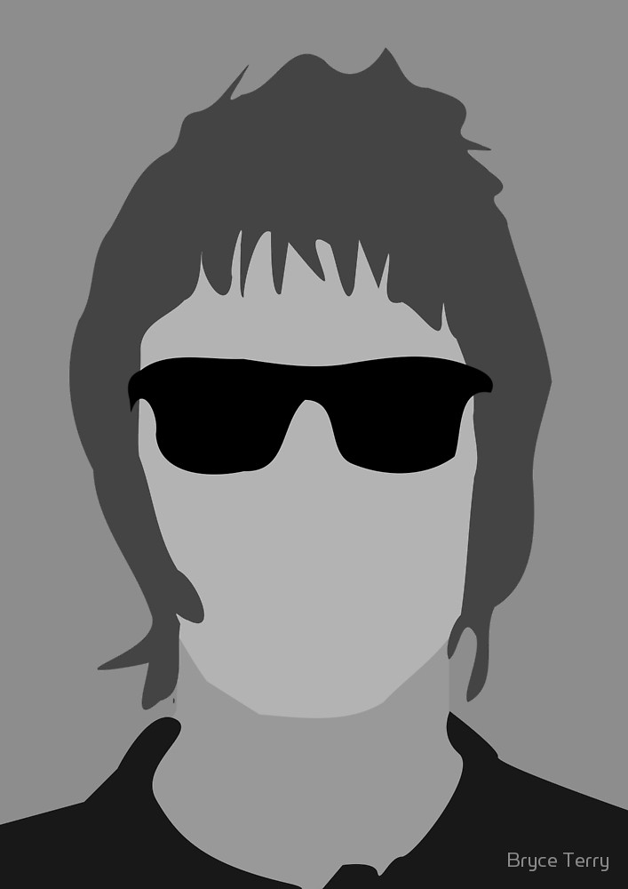Liam gallagher clipart svg royalty free download Liam Gallagher\