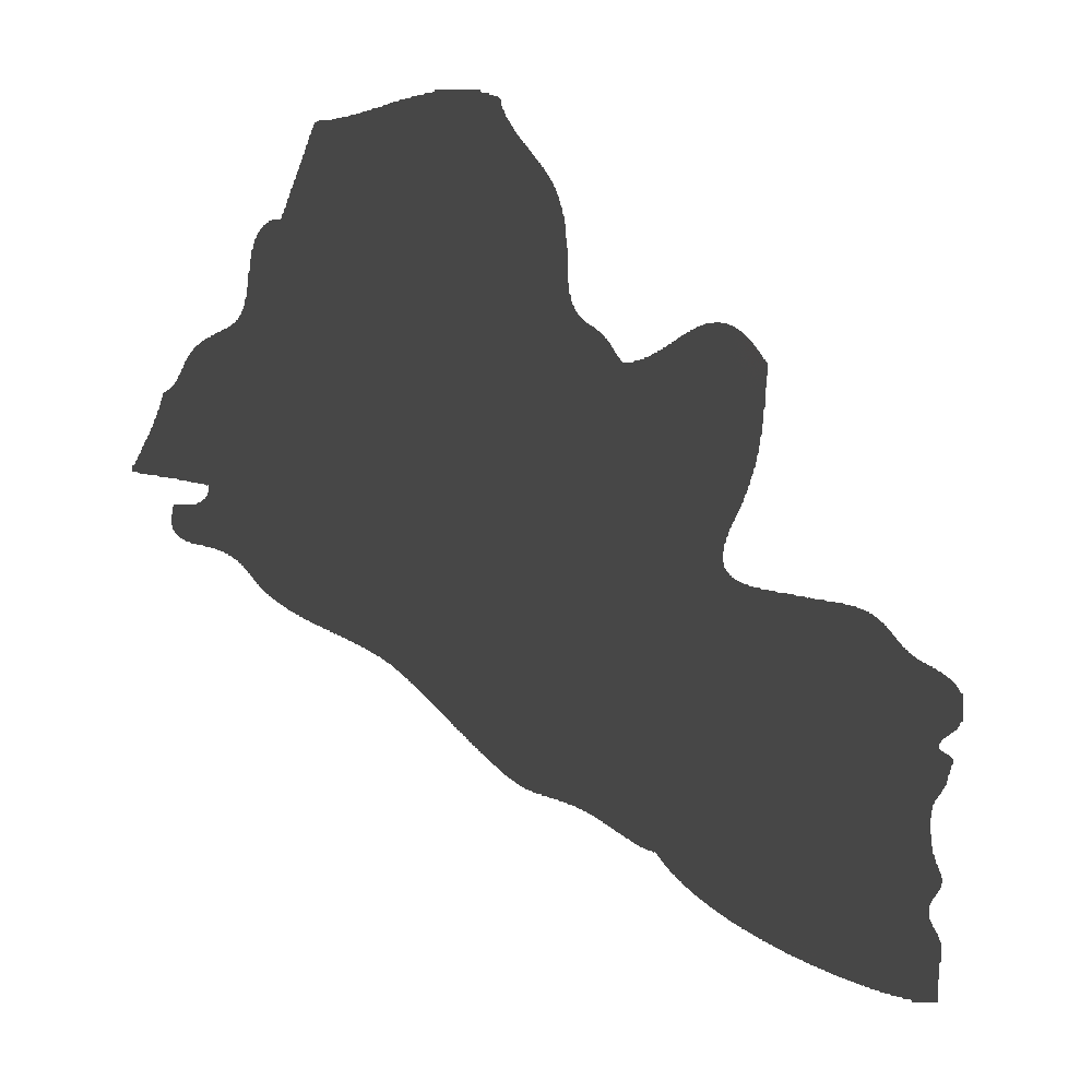 Liberia map clipart with transparent background picture royalty free download Liberia Silhouette Vector Map - Silhouette png download ... picture royalty free download