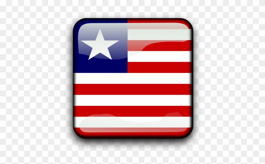 Liberia map clipart with transparent background clip library library Flag Of Liberia Clipart Png Transparent Png (#1283558 ... clip library library