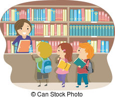 Librariam clipart jpg free stock Librarian Stock Illustrations. 1,865 Librarian clip art ... jpg free stock