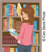 Librarian pictures clipart picture free stock Librarian Stock Illustrations. 1,865 Librarian clip art ... picture free stock