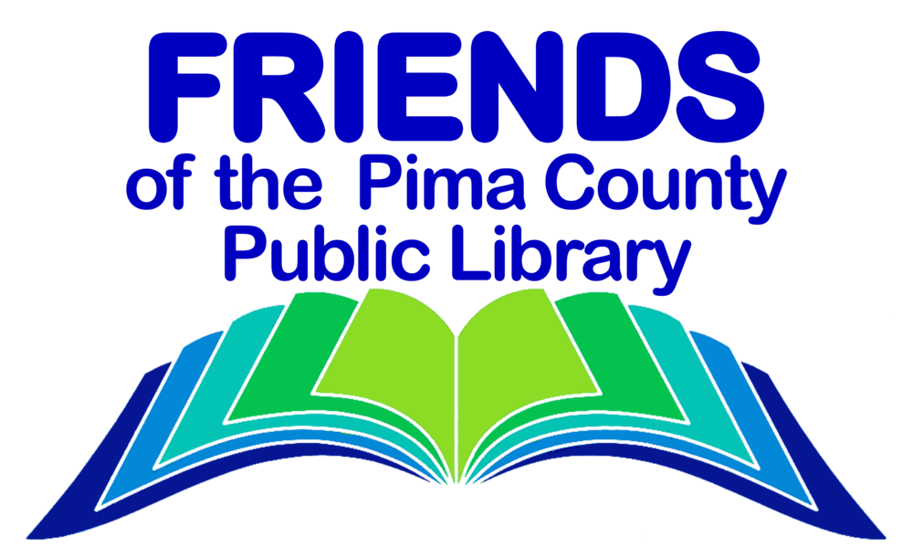 Library book return clipart vector black and white library Friends of the Pima County Public Library vector black and white library