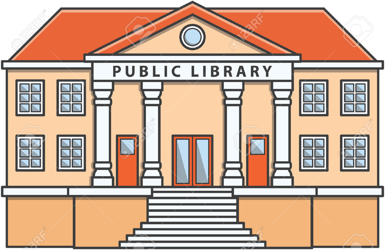 Library building clipart image freeuse library Library building clipart 2 » Clipart Station image freeuse library