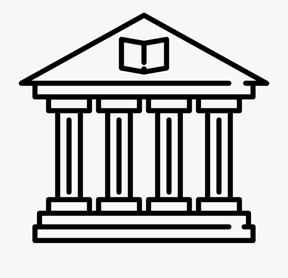 Library building clipart graphic freeuse Old Library Building Svg Png Icon Free Download - Library ... graphic freeuse