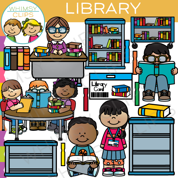 Lbrary clipart svg free At The Library Clip Art svg free