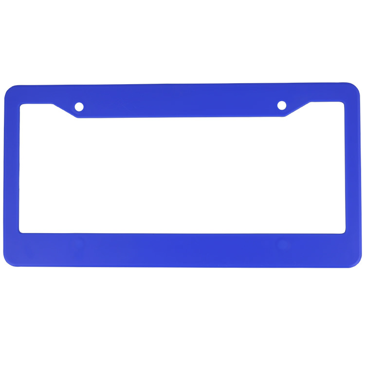 License plate frame clipart clipart freeuse stock Plastic License Plate Frame-Blank clipart freeuse stock