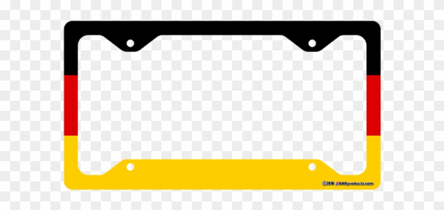 License plate frame clipart picture free download Rainbow License Plate Frame Clipart (#1146318) - PinClipart picture free download