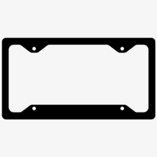 License plate frame clipart picture free download License Plate Frame - Licence Plate Frame Clip Art #1973018 ... picture free download