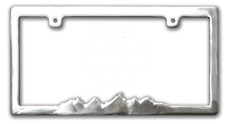 License plate frame clipart graphic library Teton License Plate Frame graphic library