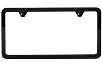 License plate frame clipart png library License Plate Frame, Slimline png library