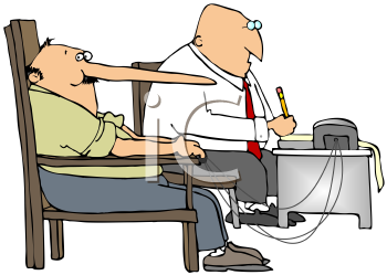 Lie detector clipart svg transparent stock Royalty Free Clipart Image of a Man Taking A Lie Detector Test ... svg transparent stock