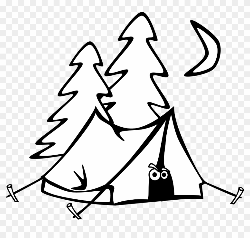 Life is better camping black and white clipart clip transparent Vine Circus Photos Capture Life Under The Big Tent - Camping Clipart ... clip transparent