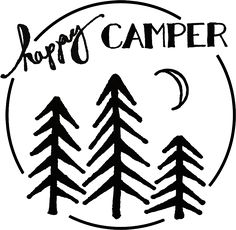 Life is better while camping black and white clipart svg free library 105 Best Camp Signs images in 2018   Crafts, Home decoration, Presents svg free library