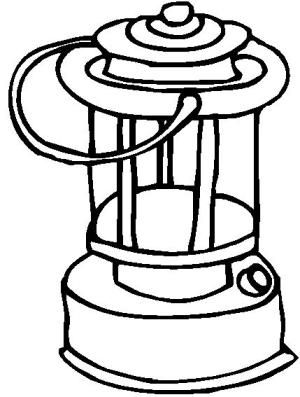 Life is better while camping black and white clipart free library Lantern Coloring Book Page   Zentangle Doodle Lettering Scripture ... free library