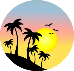 Life is good palm trees and sunset clipart free library Collection of Sunset clipart | Free download best Sunset clipart on ... free library