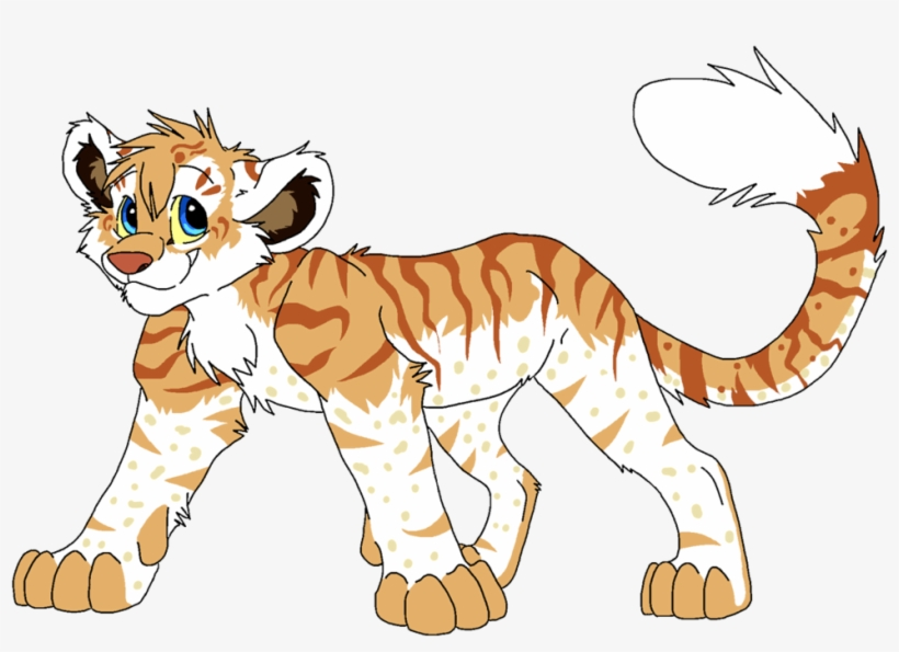 Liger clipart image transparent Liger White Lion Tiger Drawing - Anime Liger PNG Image   Transparent ... image transparent