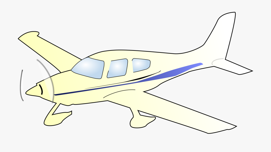 Light aircraft clipart freeuse download Single Engine Plane Clipart - Draw A Small Plane #824449 - Free ... freeuse download