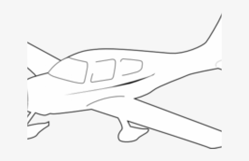 Light aircraft clipart clipart transparent stock Plane Clipart Outline - Light Aircraft - Free Transparent PNG ... clipart transparent stock